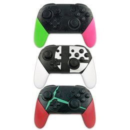 $enCountryForm.capitalKeyWord NZ - Bluetooth Wireless Controller Gamepad For Switch Pro Joy Con Gaming Joypad For Dualshock Screen Capture 1PCS LOT