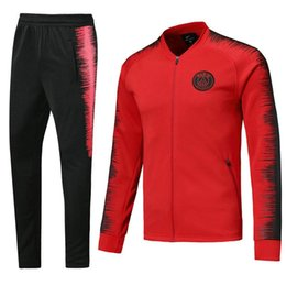 71742c354cc Thailand's quality 18 19 DI MARIA CAVANI Paris training suit soccer Jerseys  kit 2018 2019 psg MBAPPE CHANDAL football jacket tracksuit