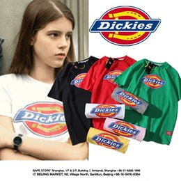 e967d77c5b7 Street Shirt hiphop online shopping - Dickies Women Skateboard T shirts  Summer Teenager Hiphop Casual Street