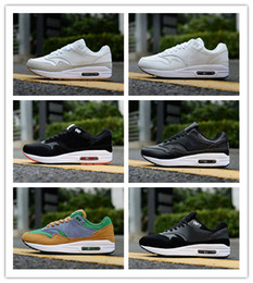 Discount air running shoes 87 women - 87 Suede Mens Designer Running Shoes 2019 Women Casual Leather Air Cushion 30th Anniversary Sports Outdoor Hiking Joggin