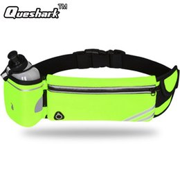 Discount cases bottled water - Men Women Sports Running Waist Bag Hip Fanny Pack with Water Bottle Camping Hiking Mobile Phone Pocket Case