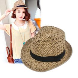 $enCountryForm.capitalKeyWord Australia - Maxi Factory direct sale Grass Braid hollow cap Women Straw Sun Hat Floppy wide Brim Fashion Beach Accessories Packable