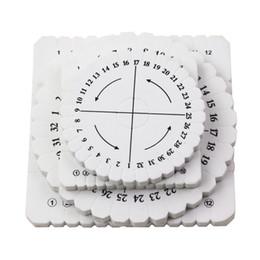 Disc Bracelet Australia - Mixed 4pcs Bracelet Knitting Kumihimo Disc Disk Tray Braided Rope Knot Round Square Handmade Knitting Tool Board