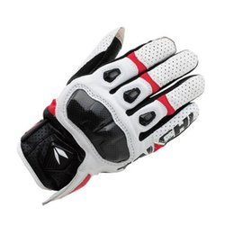 Ride Gps Australia - RST410 Perforated Breathable Leather Gloves Motorcycle Bike Riding Racing MOTO GP Gloves