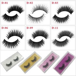 Wholesale Distributor Natural Cotton Thread False Eyelashes Cross Messy Curly Soft Fake Eyelashes Stage Show Makeup Thick Eye Lashes