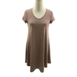 $enCountryForm.capitalKeyWord NZ - Women Plus Size Design Casual Solid Short Sleeve V-Neck Loose Beach Dress robe femme ete 2019 kimono de plage robe ete femme