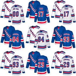 $enCountryForm.capitalKeyWord Australia - 2018 New Brand Adults New York Rangers 17 Jesper Fast 29 Cole Schneider 84 Stromwall 93 Zibanejad Blue White Ice Hockey Jersey Accept Custom