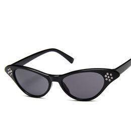 eb9d50b93d3a9 Fashion Cat Eye Sunglasses Women 2019 Hot Sale Female Brand Designer  Vintage Retro Sun Glasses Sunglass UV400 Shades