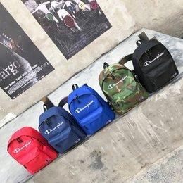 $enCountryForm.capitalKeyWord Canada - 2019 New Arrive Champions Nylon Backpack School Bag Fashion Street Style Men Women Sport Backpacks Student Embroidered Shoulder Bags C3144
