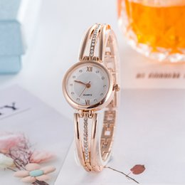 jewelry explosion Australia - Ladies Wristwatches The New Explosion Models Female models alloy Bracelet Watch Luxury Diamond Women Quartz Watches