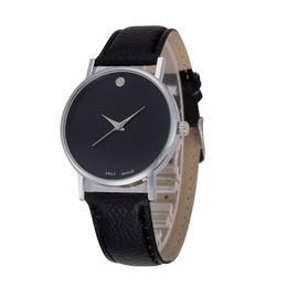 $enCountryForm.capitalKeyWord Australia - Casual Simple Men Watch Sports Fashion Design Quartz Leather Wristwatch Clock Saat Relogio Masculino Gift 2019 Drop Shipping