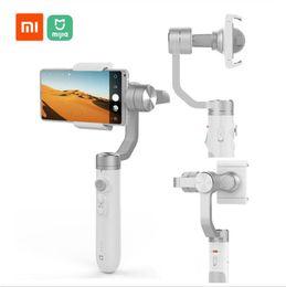Xiaomi Mijia portable Gimbal stabilisateur 3 Smartphone Axis Gimbal 5000mAh pour Appareil Photo Mobile action SJYT01FM en Solde