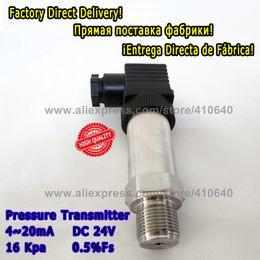 Опт Датчики давления низкой стоимости 1 части для компрессора воздуха 4 20mA 16KPA M20x1.Передатчик давления 5 портов для компрессора
