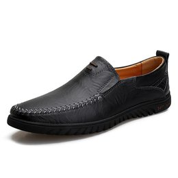 $enCountryForm.capitalKeyWord NZ - 24 styls genuine leather Luxury Designer Casual Shoes lace-up or Slip-On men's suit shoe Dress Shoes breath Driving Car Shoes high qual