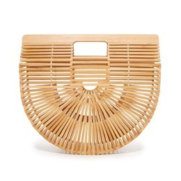 China 2018Women Handbag Female Big Travel Vacation Totes Handbag For Ladies Handmade Woven Straw Beach Bag Summer Women's Purse cheap woven straw suppliers