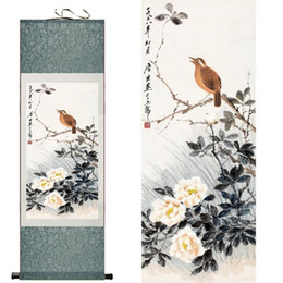 $enCountryForm.capitalKeyWord Australia - One Bird On The Tree Chinese Art Traditional Painting Landscape Art Painting Scroll Paintings About Birds And Flowers2019061415