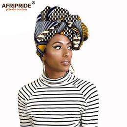 $enCountryForm.capitalKeyWord Australia - Fashion African Head Scarf Print Cotton High Quality Women African Clothing Bazin Rich Headwear Wax A09h002