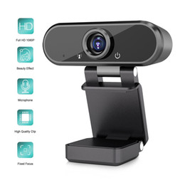 webcam Canada - HD 1080P Webcam Computer PC Web Camera with Microphone USB Web Cam for Live Broadcast Video Calling Conference Work Youtube T200615
