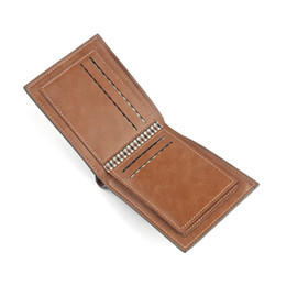 $enCountryForm.capitalKeyWord NZ - Men's short wallet Europe and the United States fashion leather cross zipper bag three fold multi-function wallet