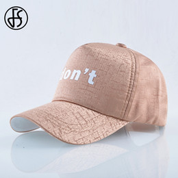 82805e7d5df FS Summer Casual Letter Print Men Women Hip Hop Full Cap Fashion Streetwear  Baseball Caps Orange Cotton Man Truck Dad Hat 2019