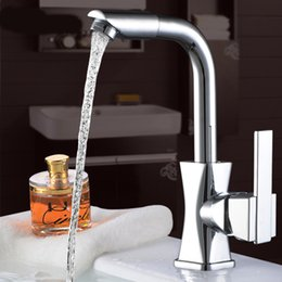 High Quality Kitchen Taps Australia - High Quality Single Handle Brass Hot And Cold Basin  Sink Kitchen Faucet Mixer Tap With Two Hose Kitchen Taps Torneira Cozinha