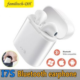 $enCountryForm.capitalKeyWord NZ - Bluetooth Headphones I7 I7S TWS Twins Air Earbuds Pods Mini Wireless Earphones Headset with Mic Stereo V4.2 for Android with Retail Box