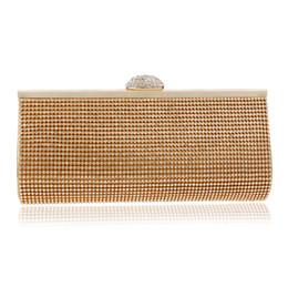 $enCountryForm.capitalKeyWord Australia - Dgrain Vintage Gold Beaded Women Fashion Girl Clutch Bag Handbags Wedding Dinner Bridal Beading Evening Clutches Purse