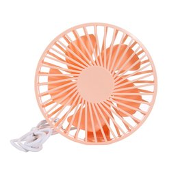 $enCountryForm.capitalKeyWord Australia - Car Fans Mini Desk Fan USB Fan Mini Air cooler Electric Fans Portable For Home Office Gifts RETAIL BOX 2 Colors
