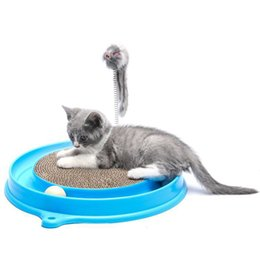 $enCountryForm.capitalKeyWord UK - Safe Track Interactive Training Ball Fun Durable Scratcher Cat Toy Mouse Pet Gifts Plastic Kitten Play