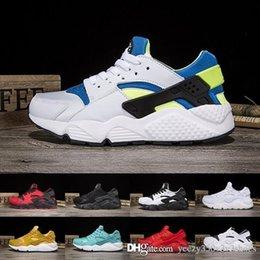 $enCountryForm.capitalKeyWord Australia - 2018 New huarache 4 Shoes For Men Women Black white red Grey Huaraches Cheap mens Shoes 36-45 M42 H179