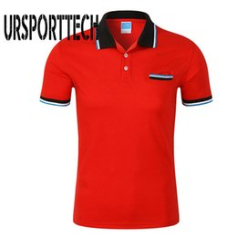Black Polo Men Australia - Clothing Men's Shirt Short Sleeve Cotton Solid Casual Shirts Men Brand Polo Fashion Slim Fit Polos S-3xl Q190525