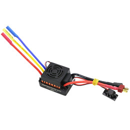 $enCountryForm.capitalKeyWord UK - Waterproof 60A Rc Brushless Esc Bec Car Parts Electric Speed Controller With 5.8V 3A Bec For 1 10 Rc Car Truck
