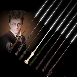 $enCountryForm.capitalKeyWord Australia - Harry Potter Cosplay Toys 56 Designs Harry Potter Metal Core Magic Wand With Gift Box Kids Toys Christmas Gift MMA2232