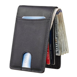$enCountryForm.capitalKeyWord Australia - Europe and the United States new rfid card package Amazon leather fashion carbon fiber men's wallet