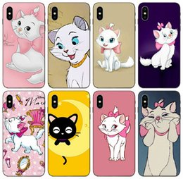 clear patterned iphone 5c cases Australia - [TongTrade] Pink Cat Pattern TPU Case For iPhone 11 Pro X XS Max XR 6s 5s 5c 5 Galaxy Note 2 3 4 5 8 9 Huawei G Play HTC U11 Life Cover Case