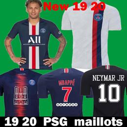c157757b623db Футбольные майки 2020 PSG Mbappe 2019 maillots de foot Paris CAVANI  VERRATTI Футболки 19 20 Paris Футболки для обучения футболке футбола