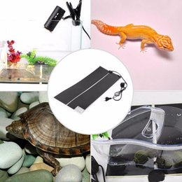 pet heat mats Australia - IR 35W 45W 28W Warmer Bed Mat Pad Amphibians Adjustable Temperature Pet Reptile Heating Heater 65x28cm 80x28cm 100x15cm