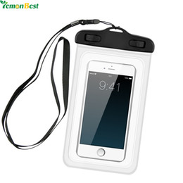 $enCountryForm.capitalKeyWord NZ - storage pouch bag Waterproof Pouch Mobile Phone Storage Box Bags Full Touch Underwater Dry Case Cover For Phone Money Card