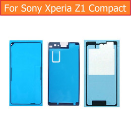 $enCountryForm.capitalKeyWord NZ - Original Display Adhesive Tape For Sony xperia Z1 mini M51W D5503 rear glass housing Waterproof glue for SONY z1 compact 3m
