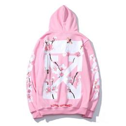 $enCountryForm.capitalKeyWord Australia - 18ss Mens designer hoodie windbreaker jackets off print Flower Street Wear Jumper Sweatshirt mens winter jacket size m-xxl