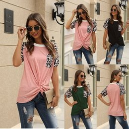 juniors tee shirts UK - Leopard Shirts for Women Faith Tops Summer Short Sleeve Loose Casual T-Shirt Junior Teen Girls Graphic Tees