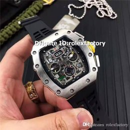 Luxury Display Cases Australia - Top Luxury 11-03 Mens Watch 316L Stainless Steel Case Oversize Date Display Automatic Sapphire Crystal Rubber Strap Luminous Watches