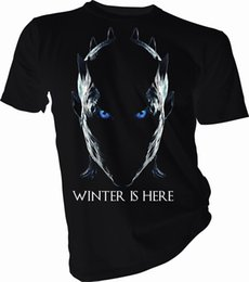 $enCountryForm.capitalKeyWord UK - Winter is Here Night King, Game of Thrones Adult & Kids T-Shirt tee Shirts Printing Funny T-Shirt Hipster Summer Top Tee