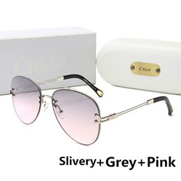 Famous brand sunglasses online shopping - Famous Designer Sunglasses Luxury Sunglasses for womens Adumbral Glasses UV400 Hot Summer Brand C158 Colors Optional High Quality with Box