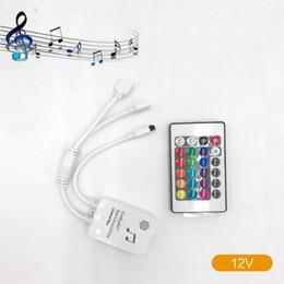 $enCountryForm.capitalKeyWord Australia - BRELONG Music LED 24Keys Light Bar Controller 6.6FT RGB With Music Change Infrared Controller USB