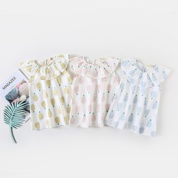 4c8f7d0726d 2019 New Baby Girls Cute Sleeveless Summer Dress Kids New Designed Casual  Cartoon Fruit Pineapple Printed Dresses Girl Clothing