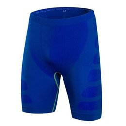 knee length compression shorts 2019 - 2019 new summer Casual Men Compression Shorts Base Layer Thermal Skin Tight Short fitness shorts men size s-2xl XZ722 di