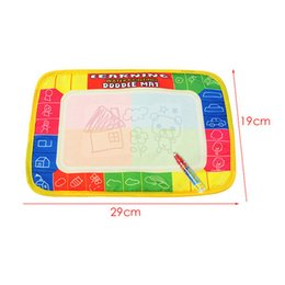 painting write board Australia - Hot! Magic Pen Kids Children Toys Water Drawing Painting Writing Board Mat Xmas Gift New Sale
