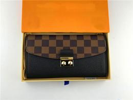 $enCountryForm.capitalKeyWord NZ - M60207 size 20cm 12cm global free shipping classic retro style luxury matching leather handbags highest quality ladies wallet clip card