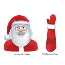 Santa Claus Figures Australia - Christmas Santa Claus Sticker. Santa Claus is greeting us. His smile is so beautiful and kind. I just like him.